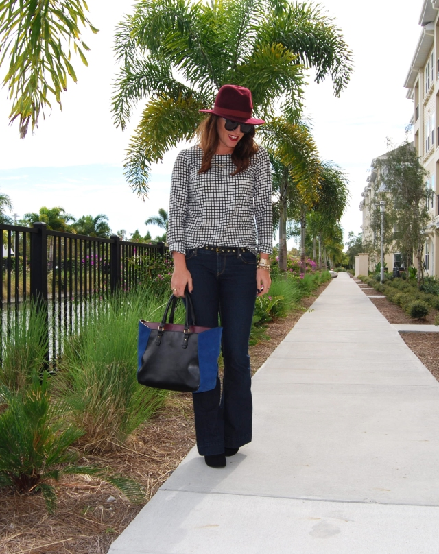 flare jeans | three wishes style