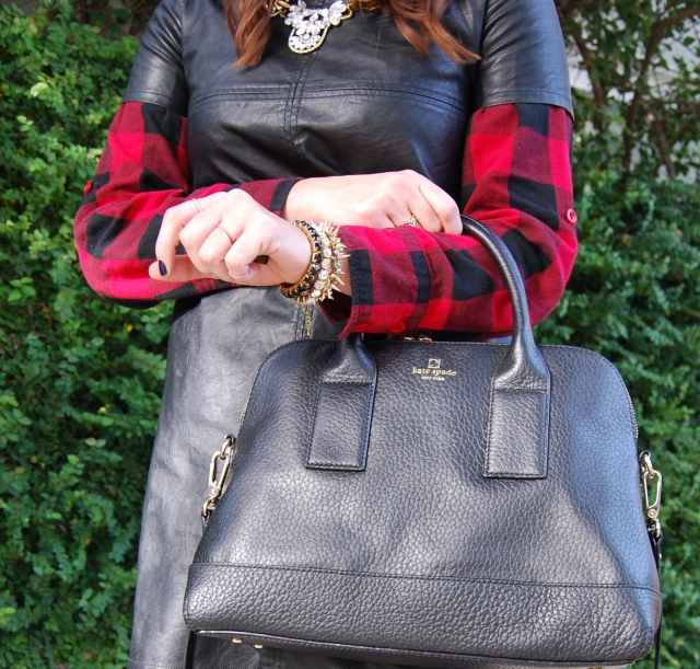 flannel + leather | three wishes style