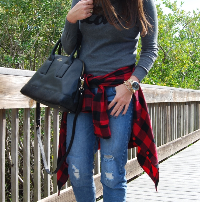 flannel love | three wishes style