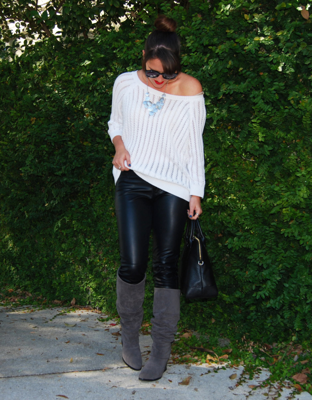7black-leather-white-sweater-three-wishes-style