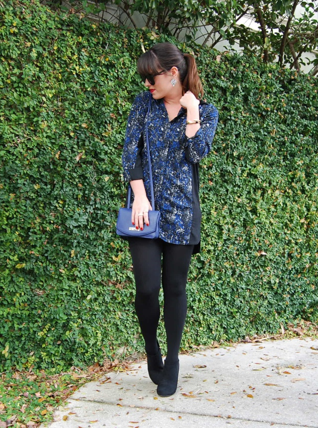 7black + blue | three wishes style