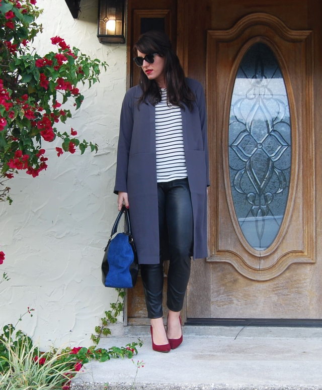 1 gray trench | three wishes style