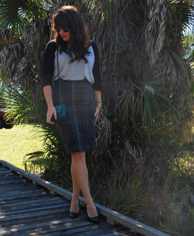 1 Pencil skirt | three wishes style