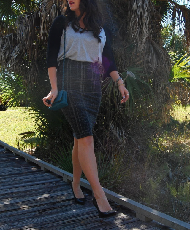 2 Pencil skirt | three wishes style