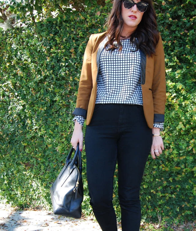 5 orange blazer | three wishes style