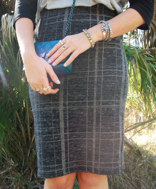 5 Pencil skirt | three wishes style