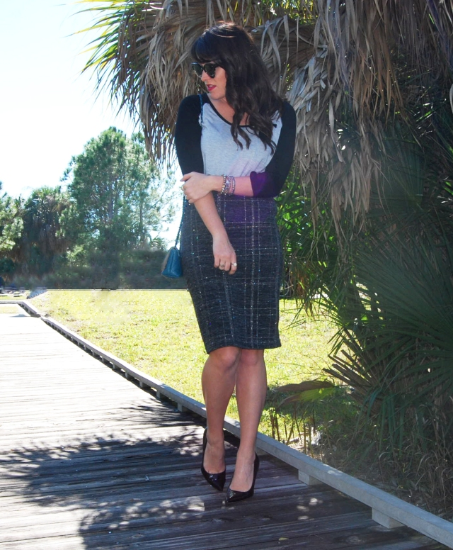 7 Pencil skirt | three wishes style