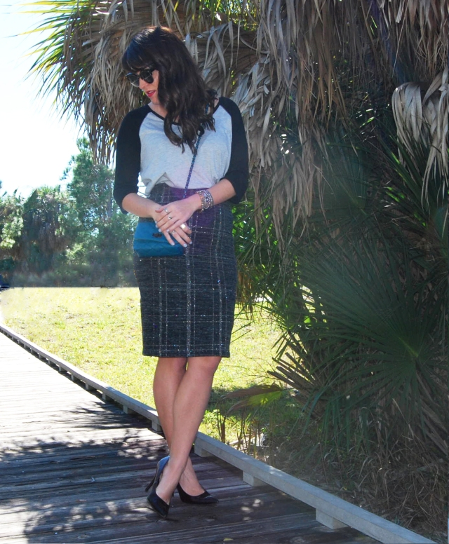 8 Pencil skirt | three wishes style