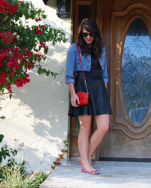 1 dressed down leather | three wishes style