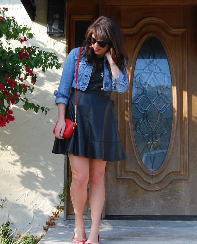 3 dressed down leather | three wishes style