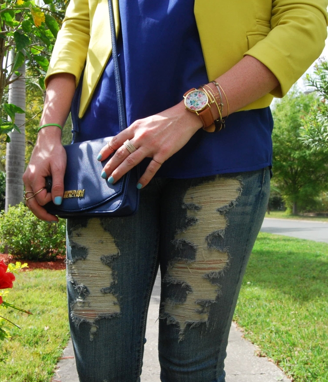 4 ripped jeans | three wishes style