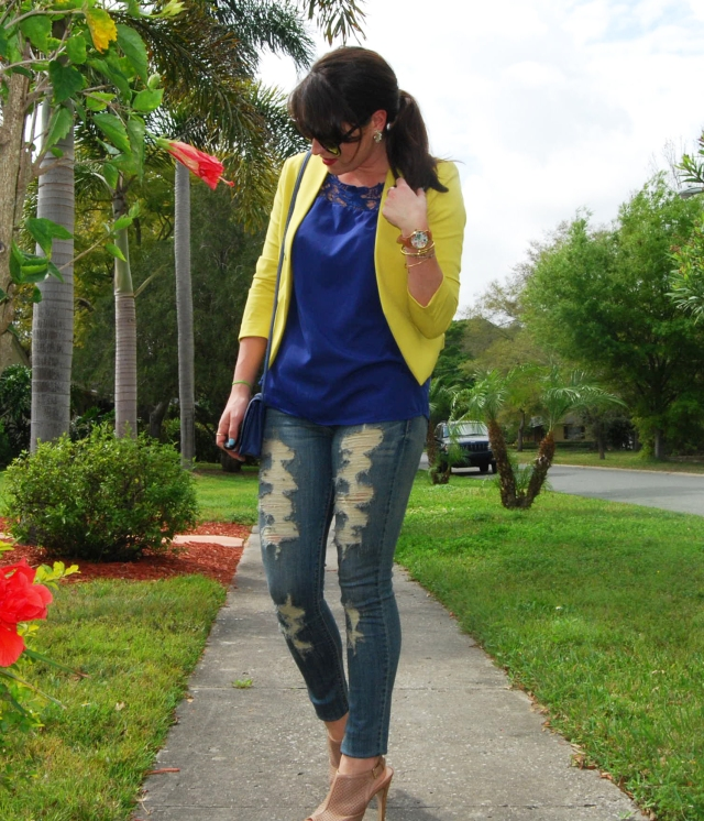 5 ripped jeans | three wishes style
