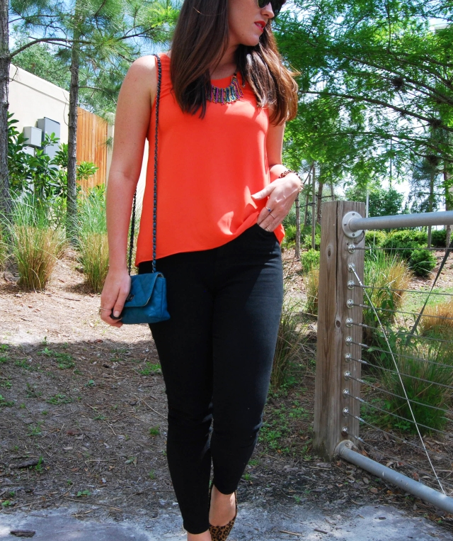 1 black and orange | three wishes style