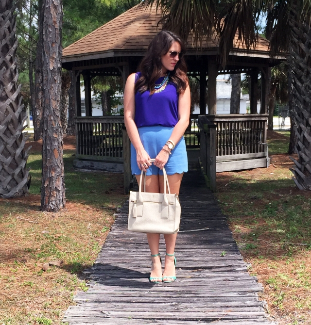 1 blue shorts | three wishes style