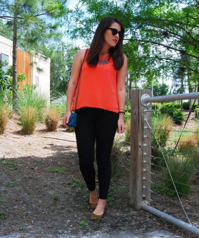 2 black and orange | three wishes style