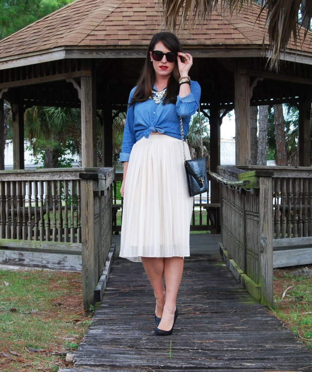 5 cream midi | three wishes style
