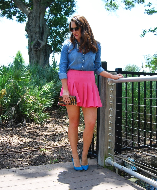 1pink skirt | three wishes style