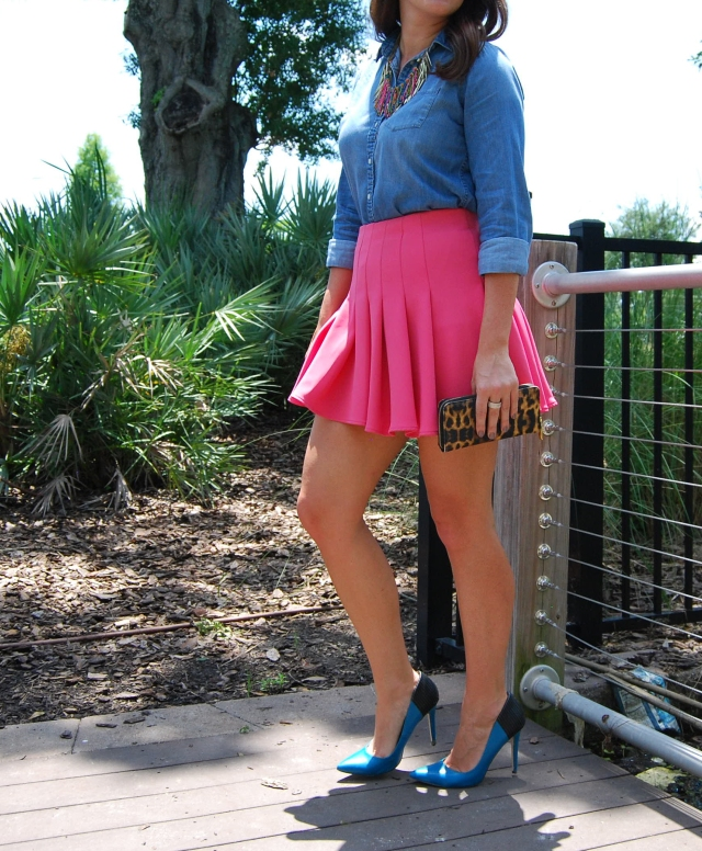 2pink skirt | three wishes style