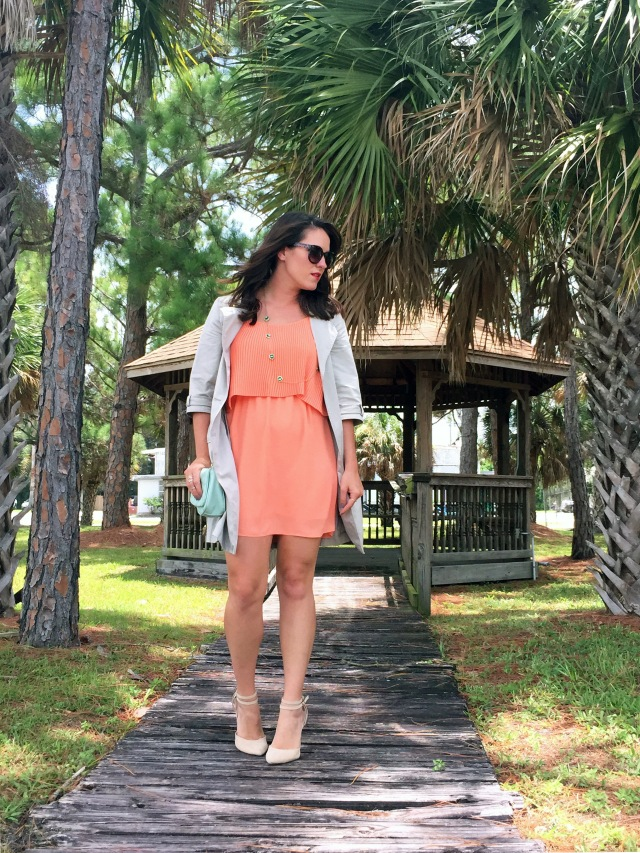 1 peachy keen dress | three wishes style