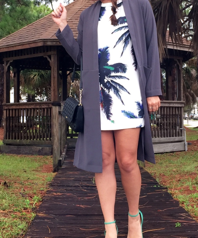 2palm tree dress | three wishes style