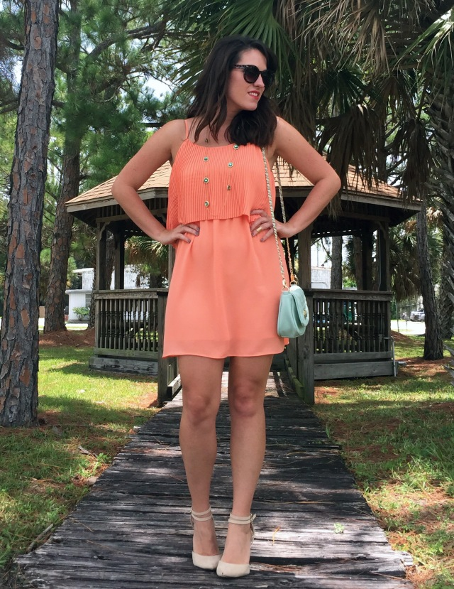 8 peachy keen dress | three wishes style