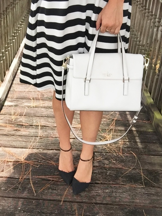 13 pink black and white stripes | three wishes style