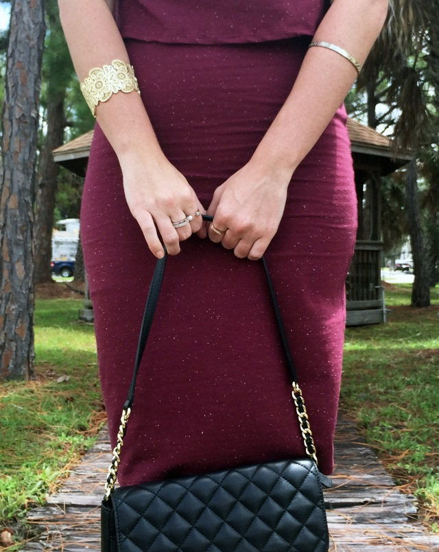 4 maroon dress | three wishes style