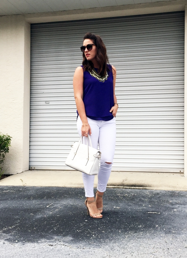 1 white jeans | three wishes style