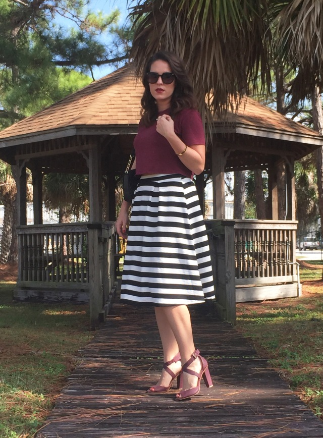 4 maroon N stripes | three wishes style