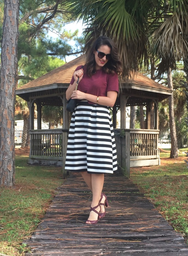 5 maroon N stripes | three wishes style