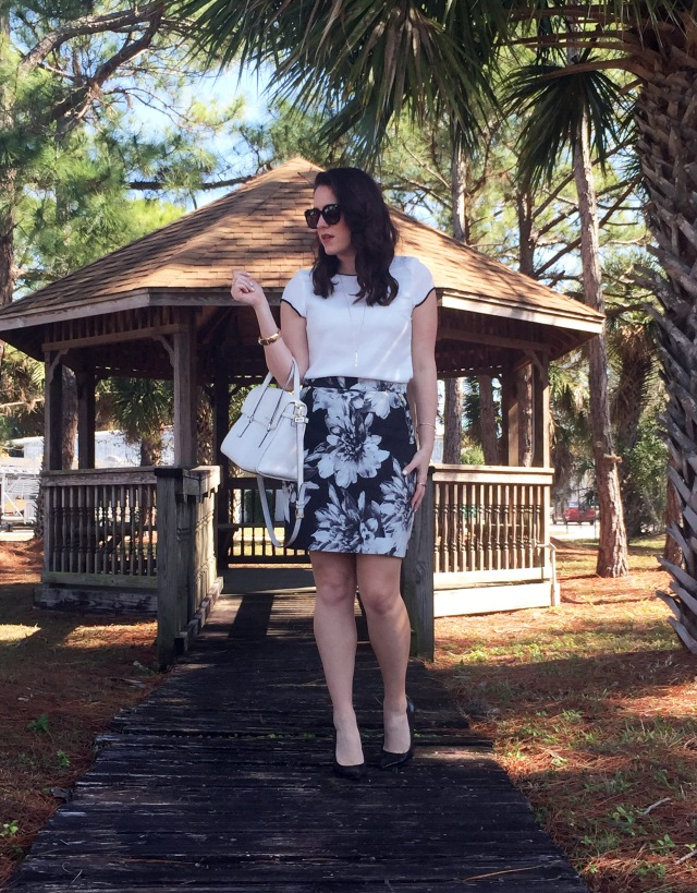 1 floral skirt