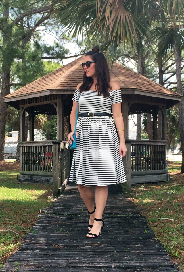 2 striped dress | three wishes style