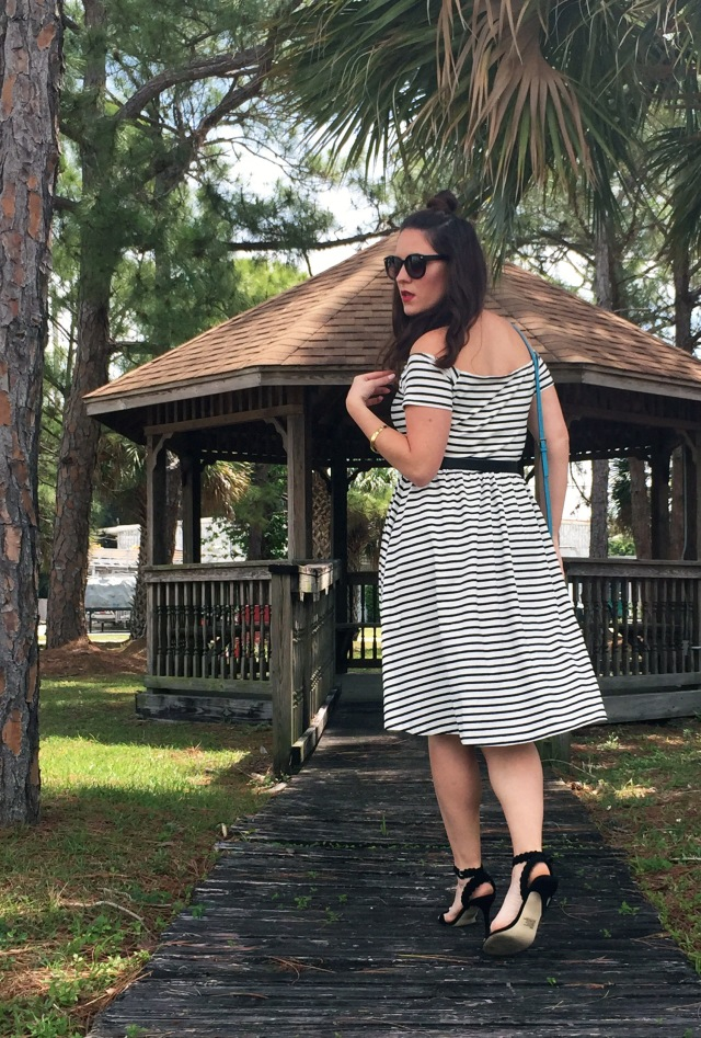 3 striped dress | three wishes style
